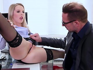 AnySex cumshot blonde